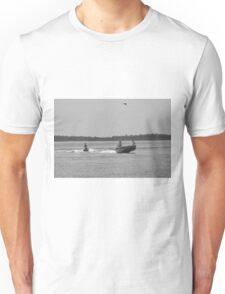 Knee boarding 2 Unisex T-Shirt