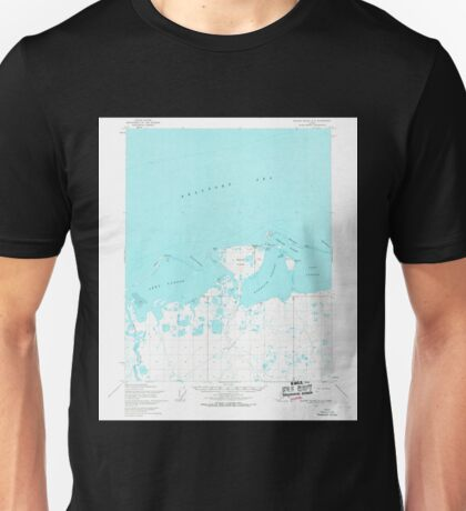 USGS TOPO Map Alaska AK Barter Island A-5 354216 1955 63360 Unisex T-Shirt