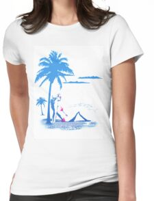 The Summer Look  Womens Fitted T-Shirt