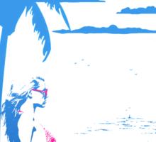 The Summer Look  Sticker