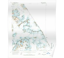 USGS TOPO Map Alaska AK Sumdum B-2 359368 1961 63360 Poster