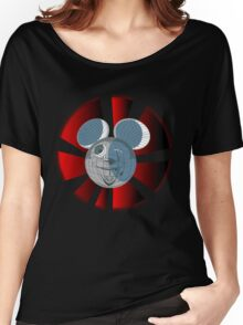 DARK MOUSE  Women's Relaxed Fit T-Shirt
