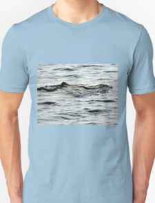 Mysterious Shapes in the Ssea .....Lyme Regis, Dorset UK Unisex T-Shirt
