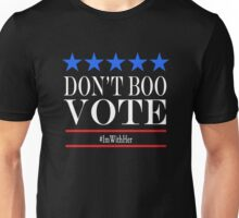 Don't Boo, Vote! Unisex T-Shirt