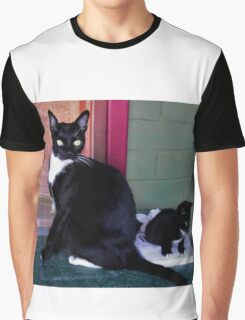 Lady Stray Graphic T-Shirt