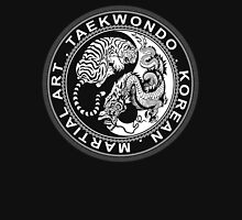 taekwondo beast dragon tiger korean martial art sport kick dark or black shirt  Unisex T-Shirt