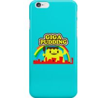 giga pudding shirt iPhone Case/Skin