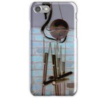 Wind chimes iPhone Case/Skin
