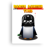 Gunter(Darth Vader) Canvas Print
