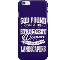 JOB - The Strongest women - Landcapers T- shirt  - Special design, lovely and cute iPhone Case/Skin