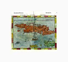 Vintage Map of Cuba (1562) Unisex T-Shirt