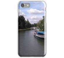Abingdon view from the bridge iPhone Case/Skin