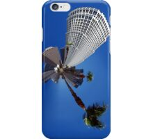 Squeezed Los Angeles Highrise Palm Tree Abstract iPhone Case/Skin