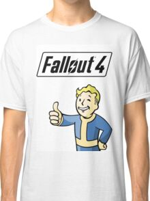 Fallout 4 Logo And Design Classic T-Shirt