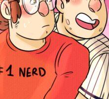 Baseball bros- Stan twins Sticker