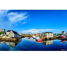 Calm Water at Peggys Cove Photographic Print