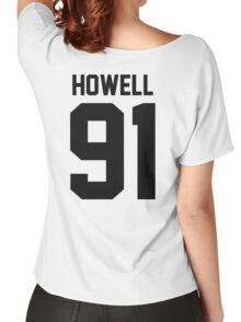 Howell 91 Black Women's Relaxed Fit T-Shirt