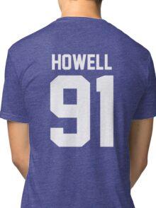 Howell 91 White Tri-blend T-Shirt