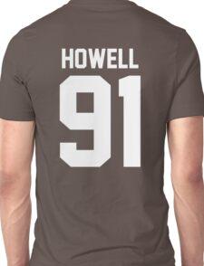Howell 91 White Unisex T-Shirt