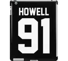 Howell 91 White iPad Case/Skin