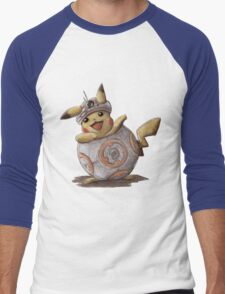 BB-kachu, gotta catch the droid you're looking for. Men's Baseball ¾ T-Shirt
