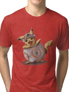 BB-kachu, gotta catch the droid you're looking for. Tri-blend T-Shirt