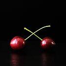 Two Cherries by Alan Harman