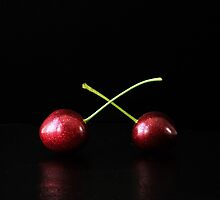 Two Cherries by Alan Harman