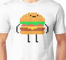 hamburger pixel Unisex T-Shirt