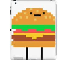 hamburger pixel iPad Case/Skin
