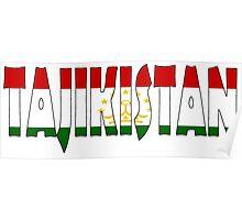Tajikistan Poster