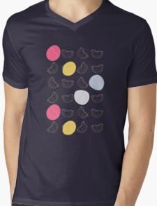 Cute pattern with watermelon   Mens V-Neck T-Shirt