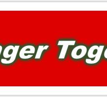 Bumper Sticker 2016 Series: Stronger Together Sticker