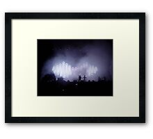 Arctic Monkeys in concert Framed Print