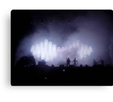 Arctic Monkeys in concert Canvas Print
