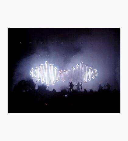 Arctic Monkeys in concert Photographic Print