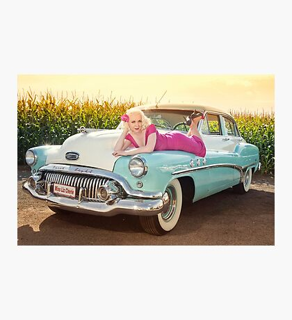 Back to the 50's Photographic Print