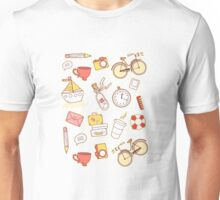 Cartoon traveling elements Unisex T-Shirt