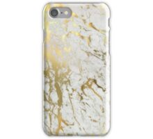 Gold And White Marble Phone Case iPhone Case/Skin