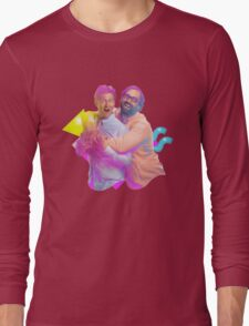 tim and eric awesome show (fixed/better) Long Sleeve T-Shirt