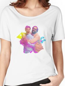 tim and eric awesome show (fixed/better) Women's Relaxed Fit T-Shirt