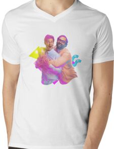 tim and eric awesome show (fixed/better) Mens V-Neck T-Shirt
