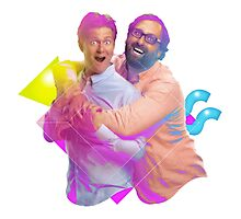 tim and eric awesome show (fixed/better) Photographic Print