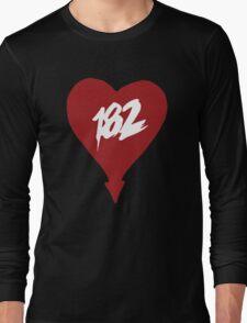 trio-182 (red) Long Sleeve T-Shirt