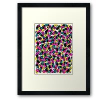 Kate Tribal Abstract Framed Print