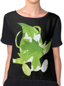 Celebi used leaf storm Chiffon Top