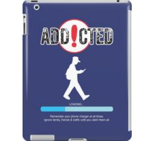 Poke Go Addicted iPad Case/Skin