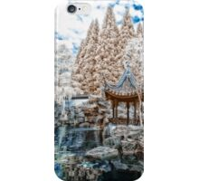 Chinese Garden Infrared iPhone Case/Skin