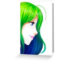 Gradient Beauty Greeting Card