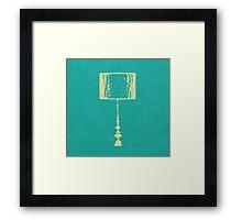L for Lamp Framed Print